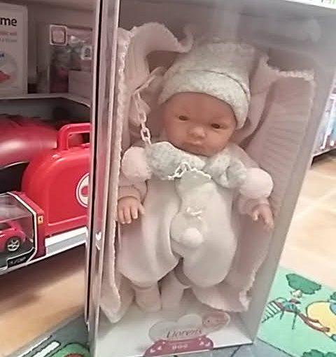 Llorens baba babás játék