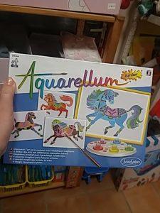 Aquarellum lovas játék