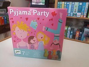 Lányos társasjáték pyjama parti Djeco
